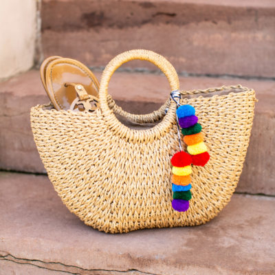 Summer Straw Guide Bag
